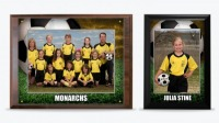 Football Standard Sublimation Plaques